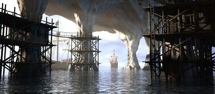 carles-piles-cinema-4d-the-pirates-cove