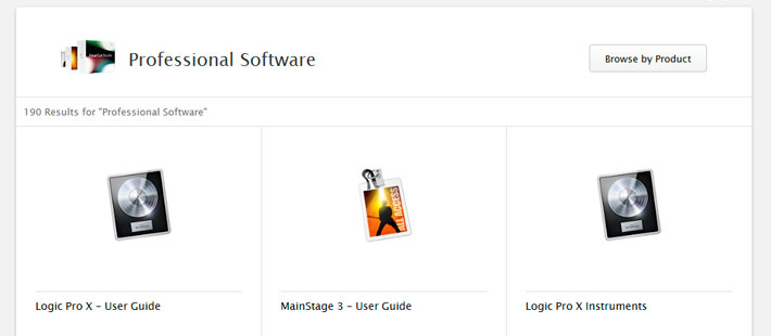apple-professional-software-manuales