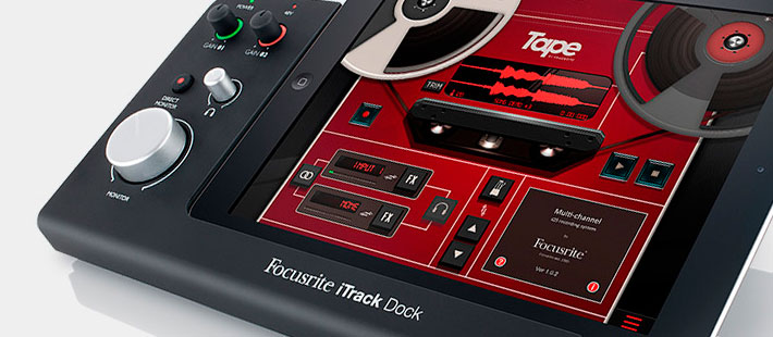 focusrite-itrack-dock-ipad