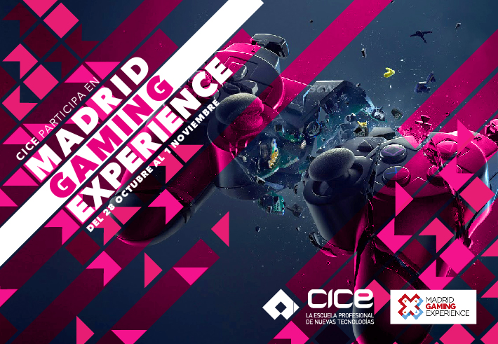 CICE en Madrid Gaming Experience 2016