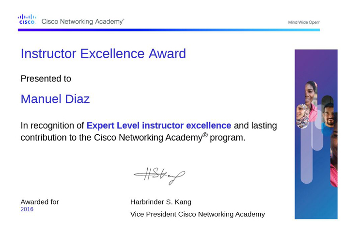 Expert Level Instructor Excellence CISCO
