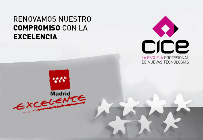Sello Madrid Excelente - CICE