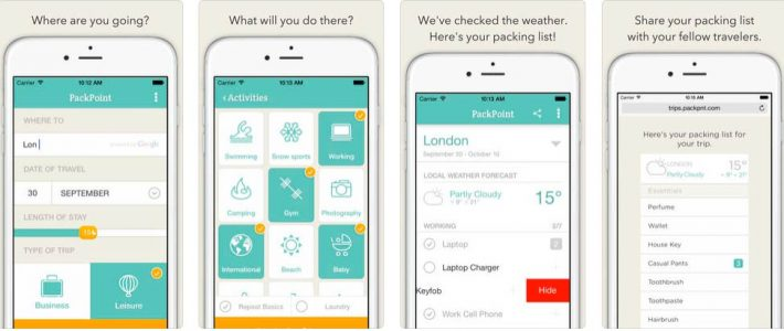 Apps para unas vacaciones perfectas CICE Pack Point