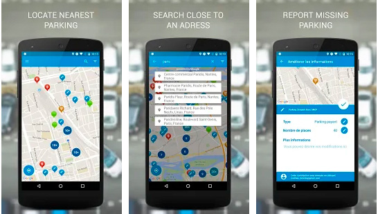 Apps para unas vacaciones perfectas CICE Parking Gratis