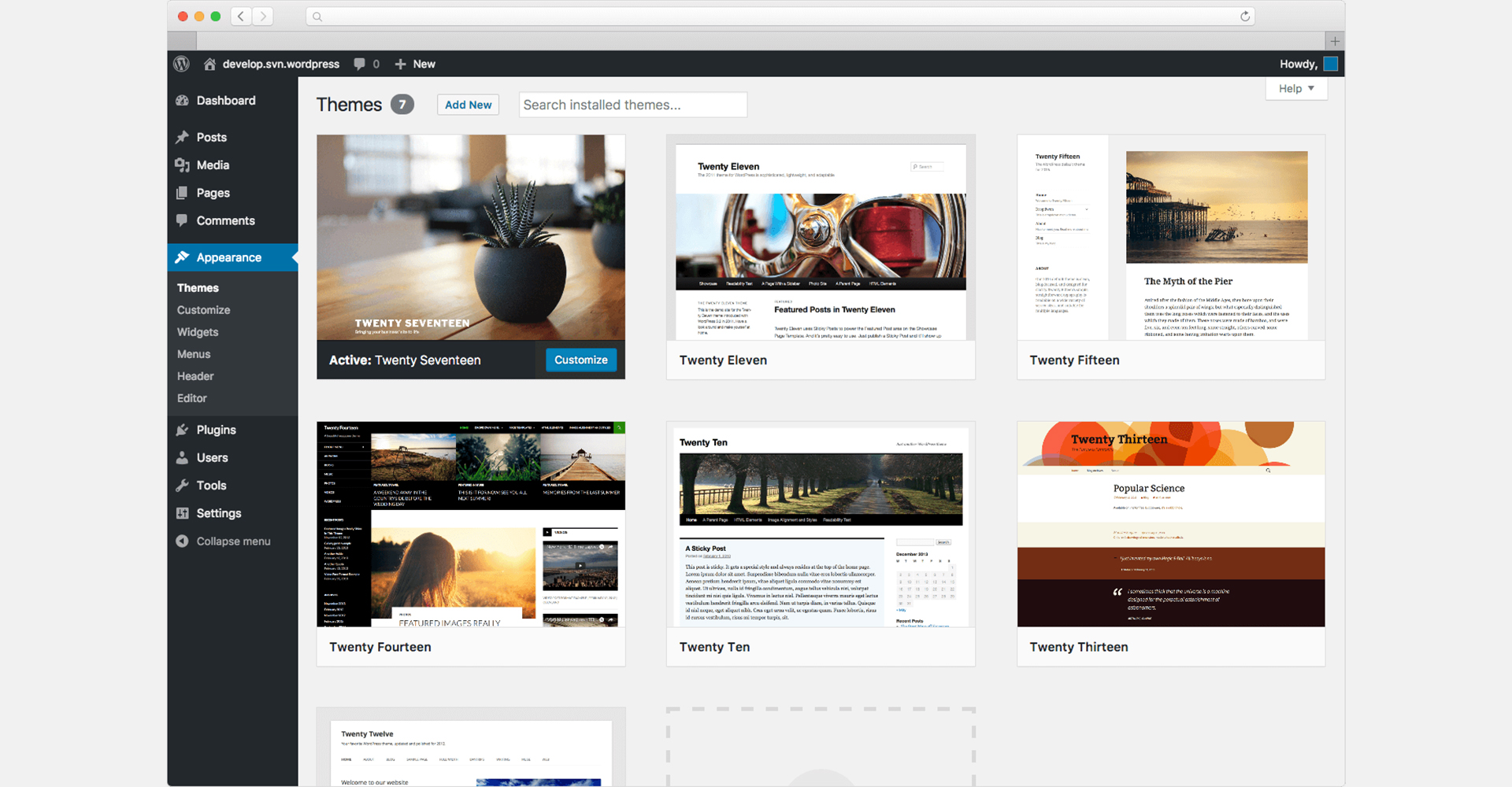 screen-wordpress