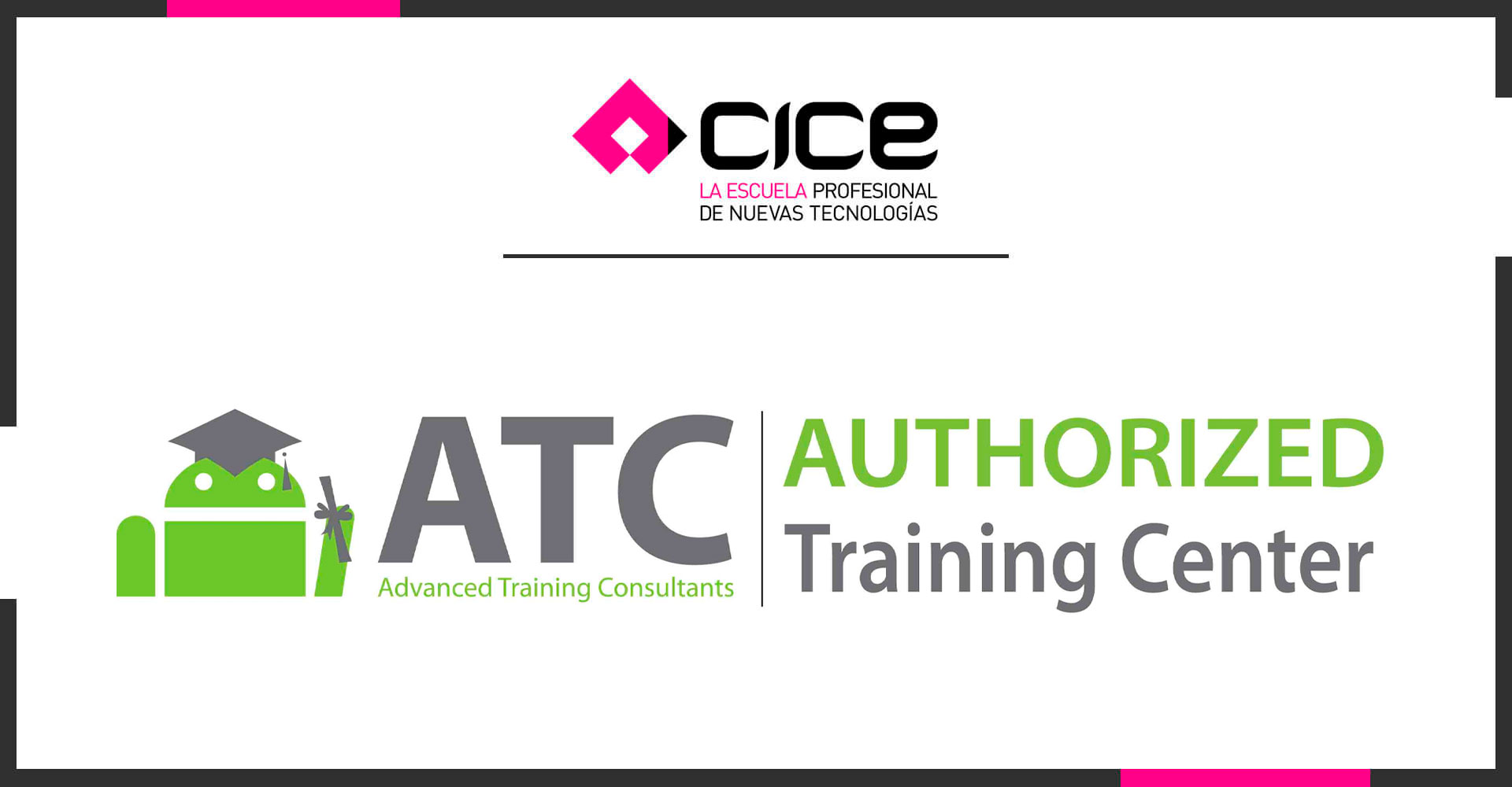 La Escuela CICE renueva como Authorized Training Center de Android